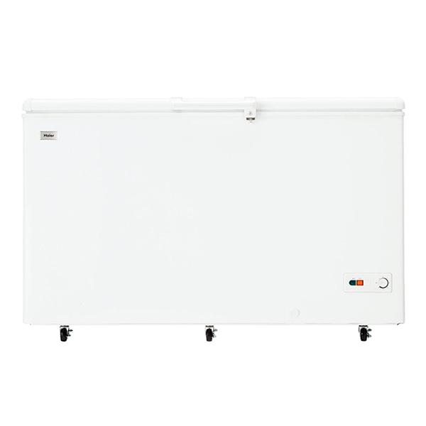 【送料無料】ハイアール JF-NC429F-W ホワイト [冷凍庫 (429L・上開き式)]