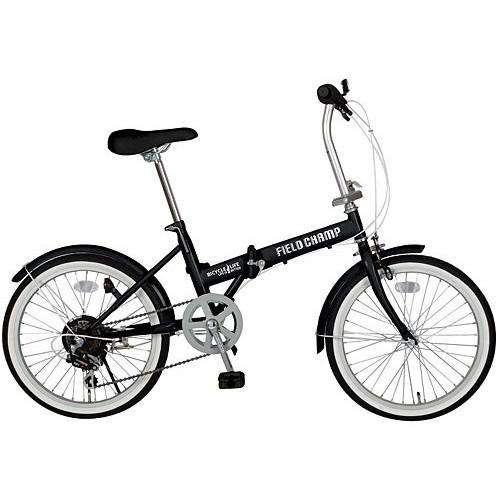 【送料無料】ミムゴ MG-FCP206 FIELD CHAMP FDB20 [折りたたみ自転車 (20型)]【同梱配送不可】【代引き不可】【沖縄・北海道・離島配送不可】
