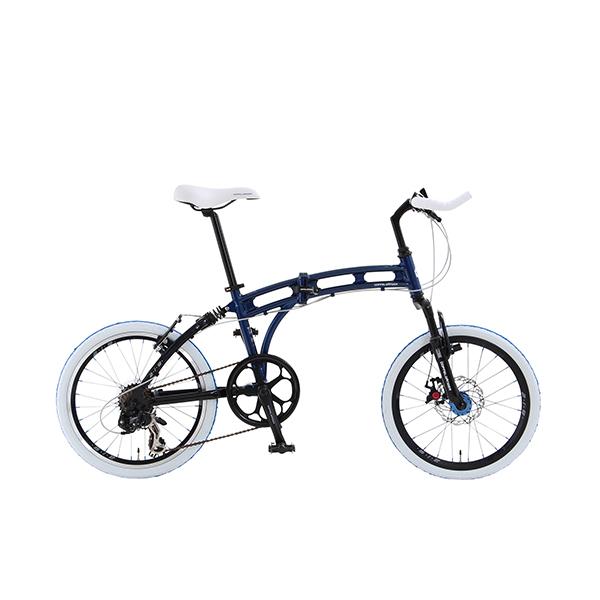 【送料無料】DOPPELGANGER 219 aurora [折りたたみ自転車(20インチ・7段変速)]【同梱配送不可】【代引き不可】【沖縄・北海道・離島配送不可】