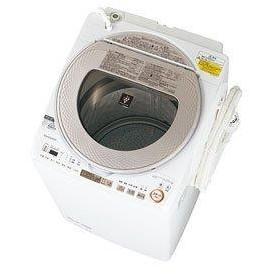 【送料無料】洗濯機 シャープ ES-TX9A-N ゴールド系 全自動 タテ型 洗濯乾燥機 9.0kg 節水 穴なし槽 プラズマクラスター ハンガー乾燥 サイクロン洗浄 SHARP