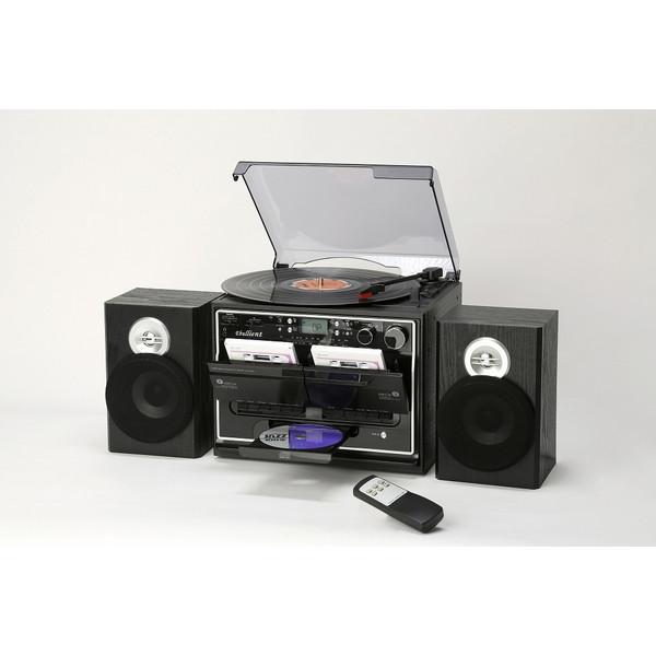 【送料無料】とうしょう TCD-389W [Wカセットダビングプレーヤー] 録音 簡単 音楽 レコード・ラジオ・CD レトロ 高級 プレゼント 父の日