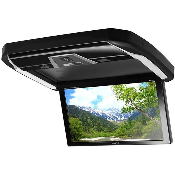 【送料無料】ALPINE PXH12X-R-B ブラック [12.8V型LED WXGAリアビジョン HDMI入力付き]
