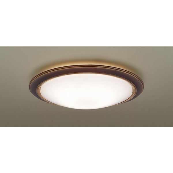 【送料無料】PANASONIC LGBZ1510 ヴィンテージプラス [洋風LEDシーリングライト (~8畳/調色・調光/昼光色・電球色) リモコン付き サークルタイプ]