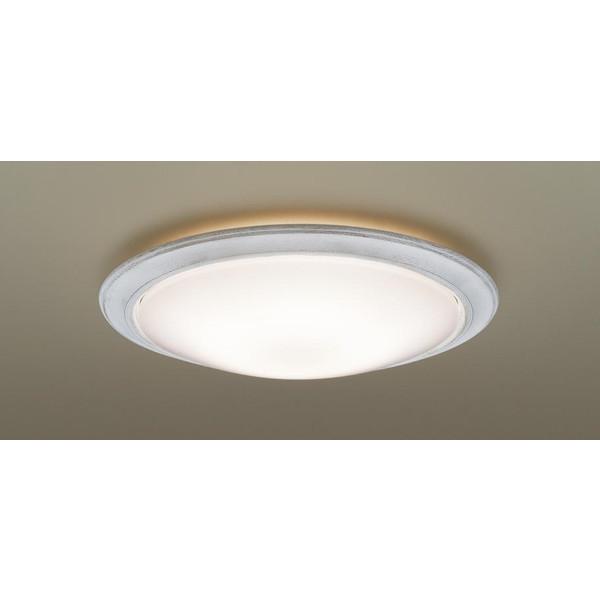 【送料無料】PANASONIC LGBZ3508 シャビーホワイト [洋風LEDシーリングライト (~12畳/調色・調光/昼光色・電球色) リモコン付き サークルタイプ]