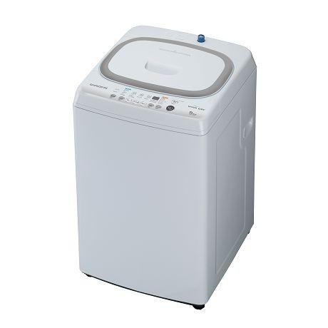 【送料無料】DAEWOO DW-S55BW ホワイト [簡易乾燥機能付洗濯機(5.5kg)]