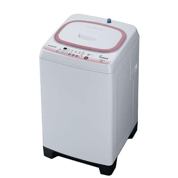 【送料無料】DAEWOO DW-S70CP ホワイト [簡易乾燥機能付洗濯機(7.7kg)]