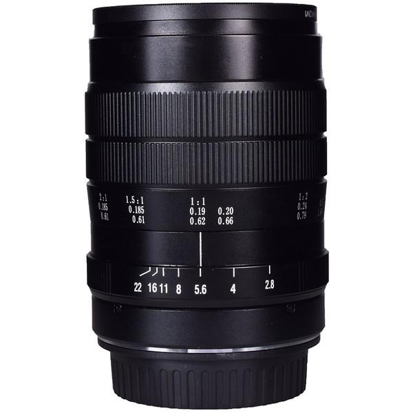 【送料無料】LAOWA 60mmF2.8 2xUltra-Macro Lens(Sony A用) [カメラ用交換レンズ]