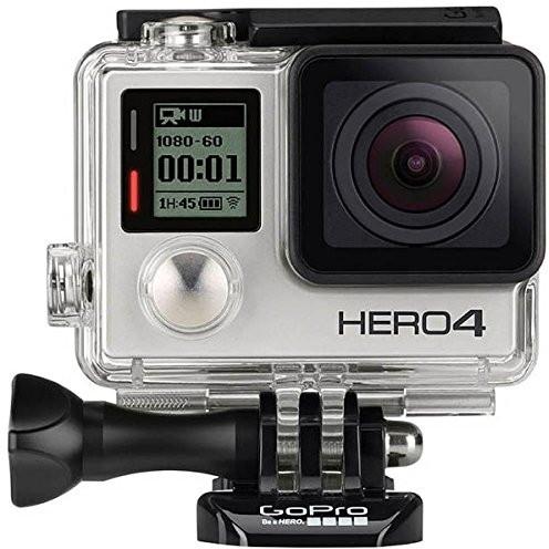 【送料無料】GoPro CHDHX-401-JP2 ブラック HERO4 ブラックエディション アドベンチャー [フルハイビジョンムービー(マイクロSD対応 40m防水ハウジング付属)]
