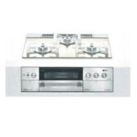 【送料無料】Rinnai RHS32W22E3RC-STW-13A ホワイトドットゴールド デリシア [ビルトインガスコンロ(都市ガス用/左右強火力/3V乾電池タイプ/75cm/オーブン接続なし)]