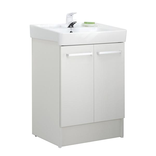 【送料無料】INAX D7N3-604/VP1W ホワイト [洗面化粧台用 (間口600 両開きタイプ シングルレバー水栓)]