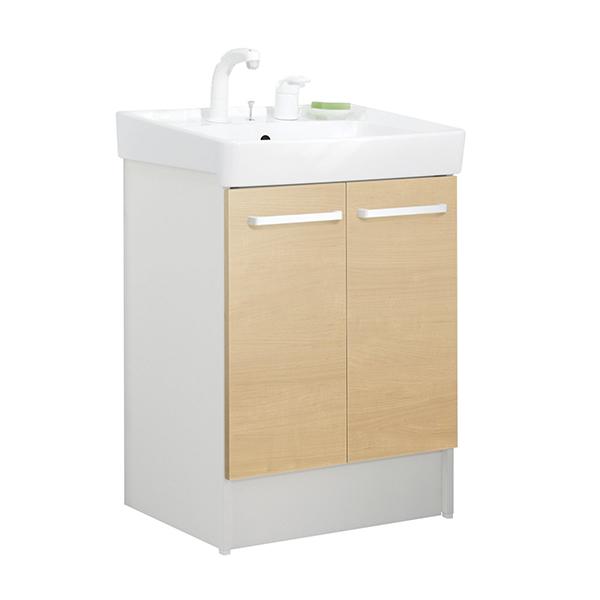 【送料無料】INAX D7N4-605SY1-W/LP2W クリエペール [洗面化粧台用 (間口600 両開きタイプ)]