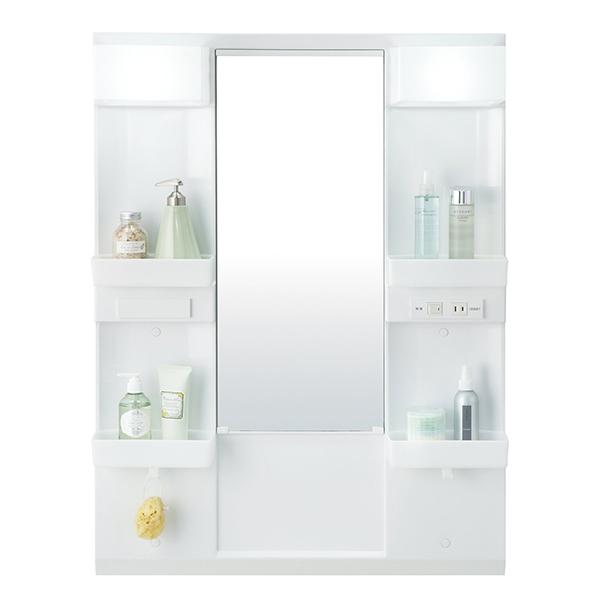 【送料無料】INAX MD7X2-751YFJU ホワイト 一面鏡 [洗面化粧台用 (間口750 一面鏡 LED LED (間口750 くもり止めコート)], フラダンス トーチジンジャー:f5ab6bf3 --- sunward.msk.ru