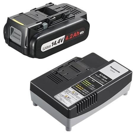 【送料無料】PANASONIC EZ9L45ST [14.4v 電池パック・充電器セット]
