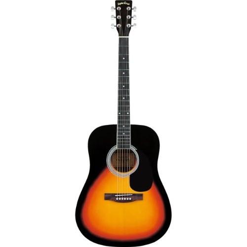 【送料無料】SepiaCrue WG-10/VS(S.C) ヴィンテージサンバースト [アコースティックギター ドレッドノートタイプ]