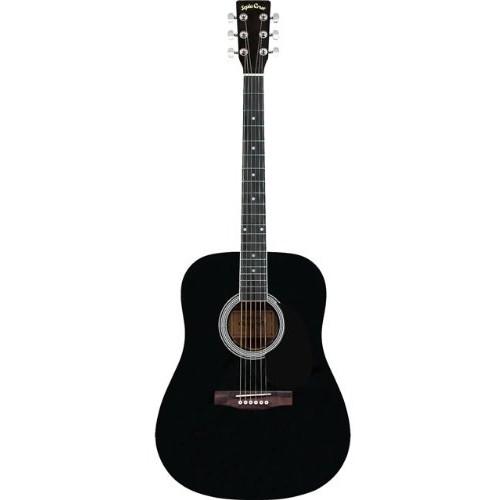【送料無料】SepiaCrue WG-10/BK(S.C) ブラック [アコースティックギター ドレッドノートタイプ]