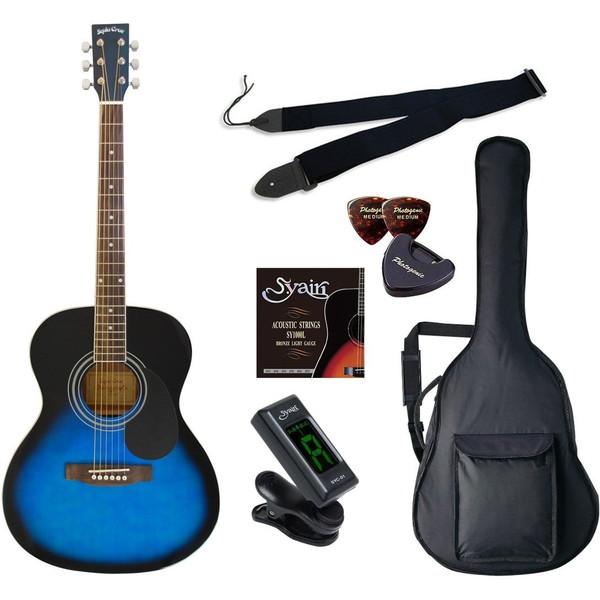 【送料無料】SepiaCrue FG-10 FG-10/BLS/BLS ] ライトセット ブルーサンバースト [アコースティックギター初心者入門ライトセット ライトセット ], 発表会衣装専門店*Angels Closet:9f71d7f3 --- sunward.msk.ru