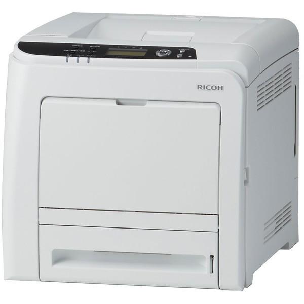【送料無料】RICOH SP C341 ホワイト [A4カラーレーザープリンター(1200dpi/有線LAN/USB2.0)]