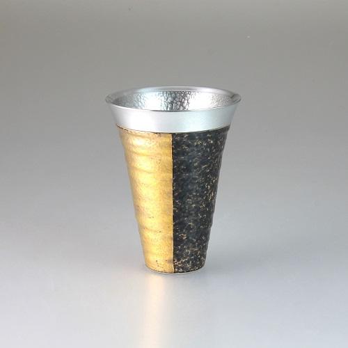 【送料無料】西日本陶器 ZEN(金)錫陶フリーカップ【同梱配送不可】【代引き不可】