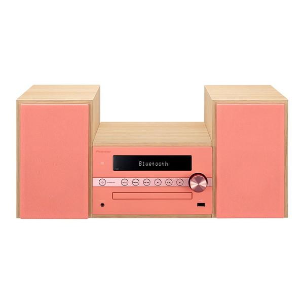 【送料無料】PIONEER X-CM56-R レッド [CDミニコンポ(Bluetooth対応・USB端子搭載)]