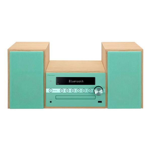 【送料無料】PIONEER X-CM56-GR グリーン [CDミニコンポ(Bluetooth対応・USB端子搭載)] パイオニア pioneer
