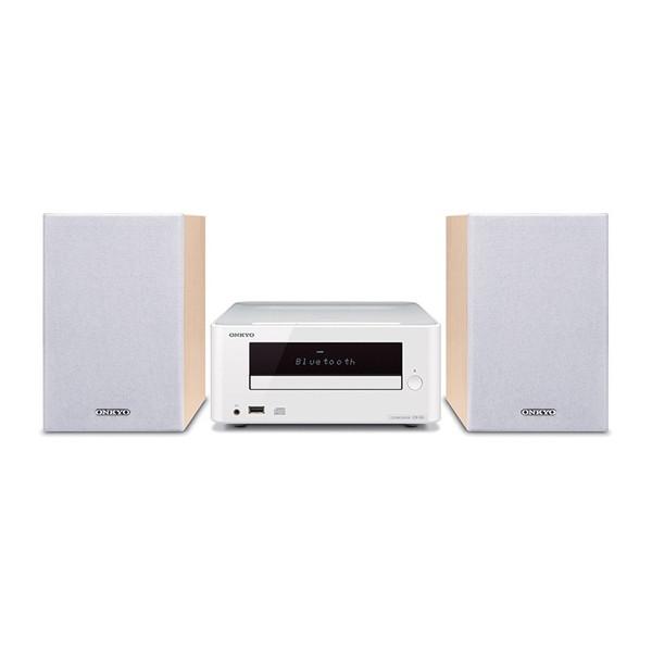 ONKYO X-U6-W ホワイト [CDミニコンポ(Bluetooth対応・USB端子搭載)] オンキョー MP3 スピーカー ブルートゥース 白 CD-R ラジオ スマホ接続