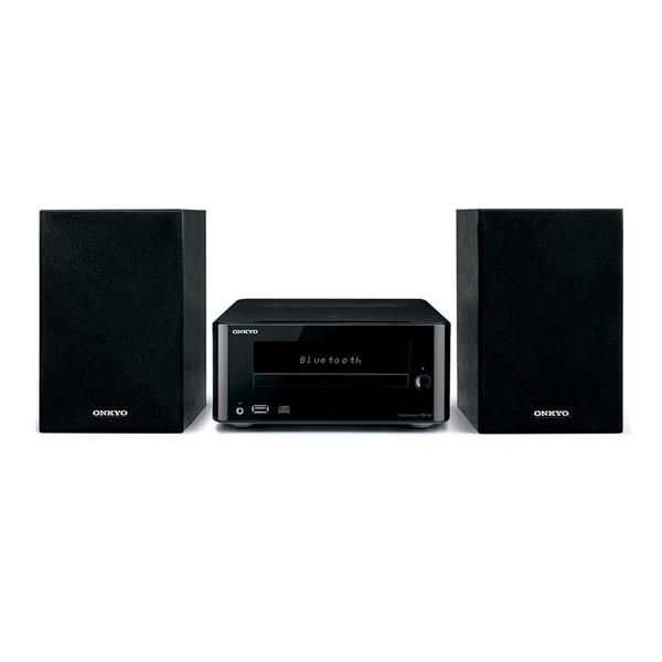 ONKYO X-U6-B ブラック [CDミニコンポ(Bluetooth対応・USB端子搭載)] オンキョー MP3 スピーカー ブルートゥース 黒 CD-R ラジオ スマホ接続