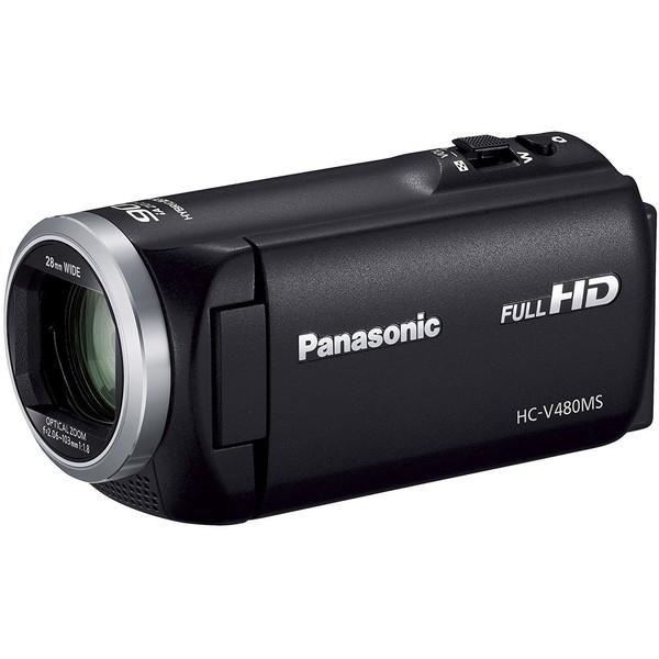 PANASONIC HC-V480MS-K ブラック [SD対応 32GBメモリー内蔵フルハイビジョンビデオカメラ]