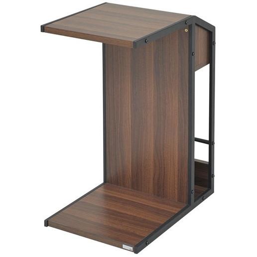 【送料無料】JKプラン DRT-0008-BK Re・conte Rita series Sofa Side Table リタ [ソファサイドテーブル (収納ワゴン/キャスター付き)]【同梱配送不可】【代引き不可】【沖縄・離島配送不可】