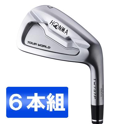 本間ゴルフ(HONMA) ツアーワールド TW737P アイアンセット6本組 NS PRO 950GH スチールシャフト フレックス:S #5-10 【日本正規品】