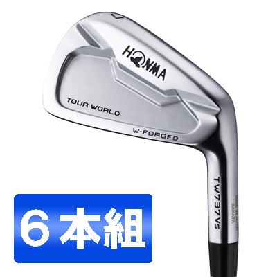 本間ゴルフ(HONMA) ツアーワールド TW737Vs アイアンセット6本組 NS PRO MODUS3 TOUR105 スチールシャフト フレックス:S #5-10 【日本正規品】