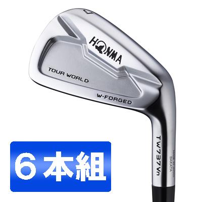 【送料無料】本間ゴルフ(HONMA) ツアーワールド TW737Vn アイアンセット6本組 Dynamic Gold スチールシャフト フレックス:S200 #5-10 【日本正規品】