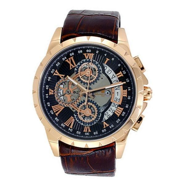 【同梱不可】 【送料無料】Salvatore Marra SM13119S-PGBK ブラック [腕時計], フジオカマチ e5b9e8b3
