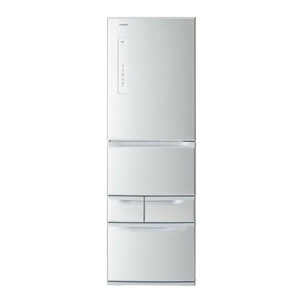 【送料無料】東芝 GR-K41G-S シルバー VEGETA [冷蔵庫(410L・右開き)]