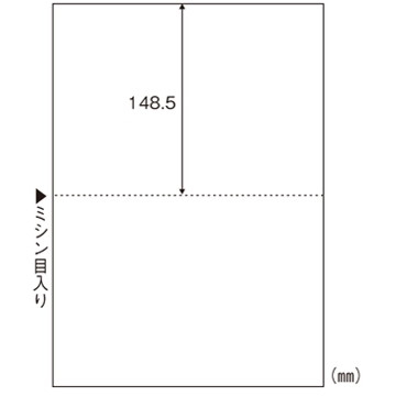 【送料無料】HISAGO 1318-BPE2002 マルチプリンタ帳票エコノミープライス A4判2面