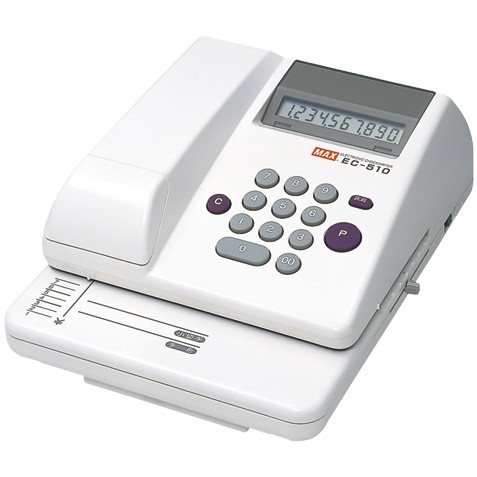 MAX 1318-EC90002 電子チェックライター EC-510