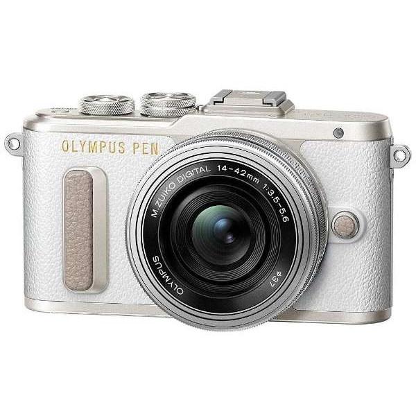 【送料無料】OLYMPUS PEN E-PL8・14-42mm EZレンズキット ホワイト [デジタル一眼カメラ(1605万画素)]