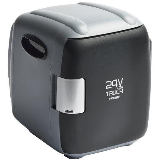 【送料無料】TWINBIRD HR-D249GY グレー [コンパクト電子保冷保温ボックス(24V専用)]