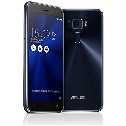 【送料無料】ASUS ZE520KL-BK32S3 サファイアブラック ZenFone 3 [SIMフリースマートフォン(メモリ3GB/eMCP32GB)]