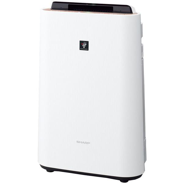 SHARP(シャープ) KC-G40-W ホワイト系 [加湿空気清浄機 (空気清浄18畳/加湿11畳まで)]加湿/除電/節電/高濃度プラズマクラスター7000/花粉/脱臭/ウイルス/ホコリ/パワフル吸塵/PM2.5対応