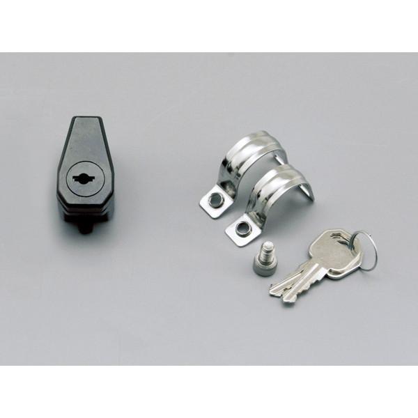 ハンドル用ヘルメットロック デイトナ D75477 送料無料/新品 ヘルメットロックホルダー おすすめ ブラック