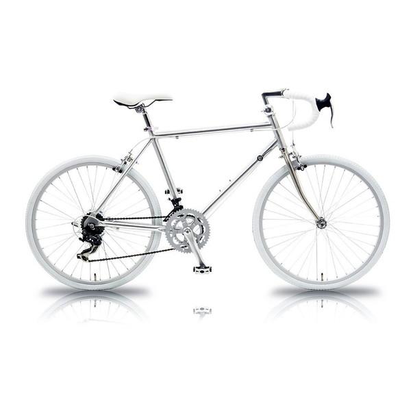 【送料無料】TRAILER TR-R2401 シルバー×ホワイト [ロードバイク(24インチ・14段変速)]【同梱配送不可】【代引き不可】【沖縄・北海道・離島配送不可】