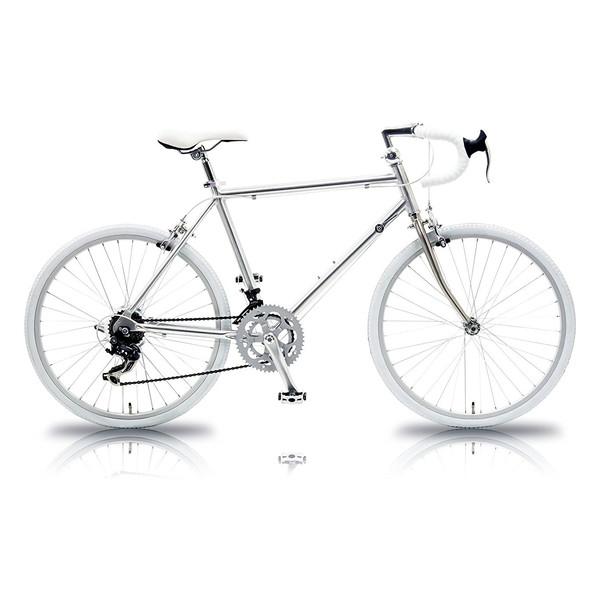 【送料無料】TRAILER TR-R2601 シルバー×ホワイト [ロードバイク(26インチ・14段変速)]【同梱配送不可】【代引き不可】【沖縄・北海道・離島配送不可】