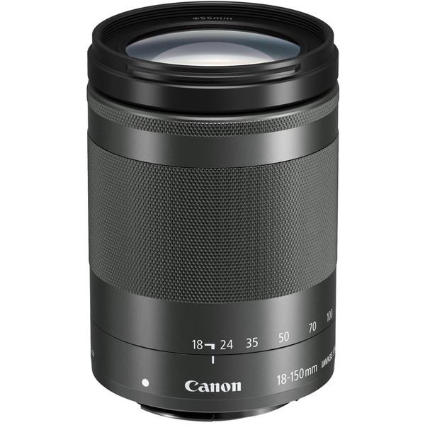 【送料無料】CANON EF-M18-150F3.5-6.3 IS STM グラファイト [交換レンズ(キヤノンEF-Mマウント)]