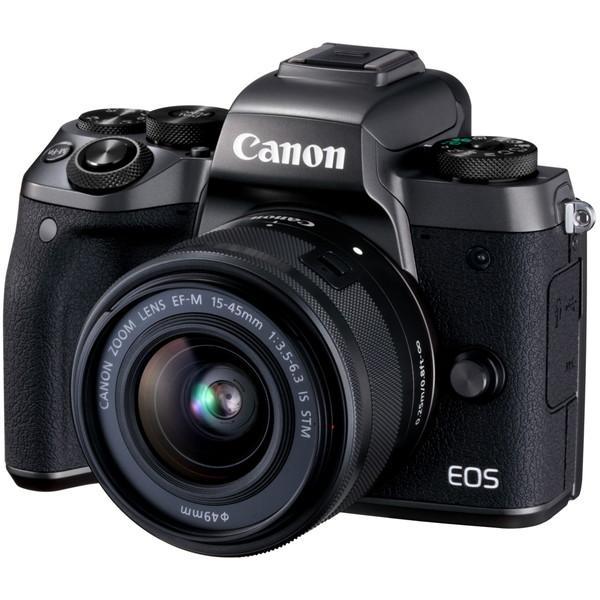 CANON EOS M5 EF-M15-45 IS STM レンズキット [ミラーレス一眼カメラ(2420万画素)]