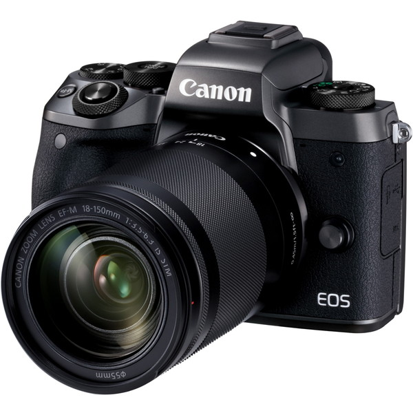 CANON EOS M5 EF-M18-150 IS STMレンズキット [ミラーレス一眼カメラ(2420万画素)] 高精度 センサー搭載 高画質 一眼 オートーフォーカス EVF搭載 タッチ&ドラッグ