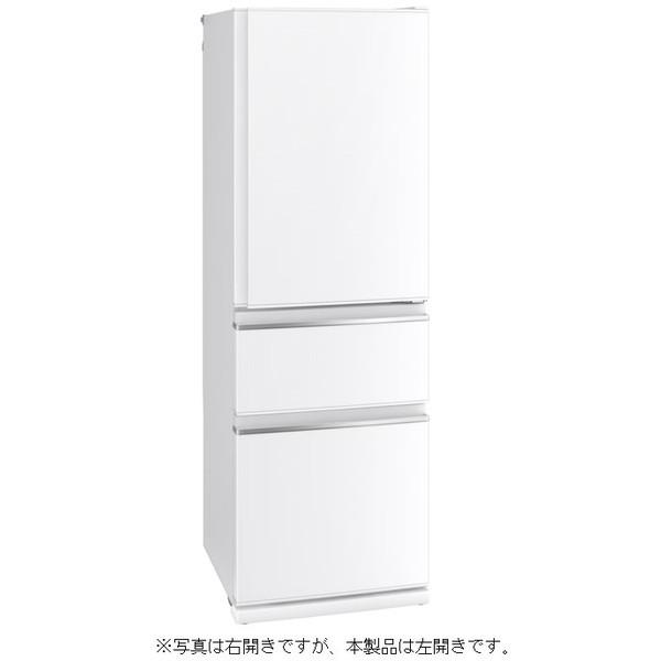 【送料無料】MITSUBISHI MR-CX37AL-W パールホワイト CXシリーズ [冷蔵庫 (365L・左開き)]