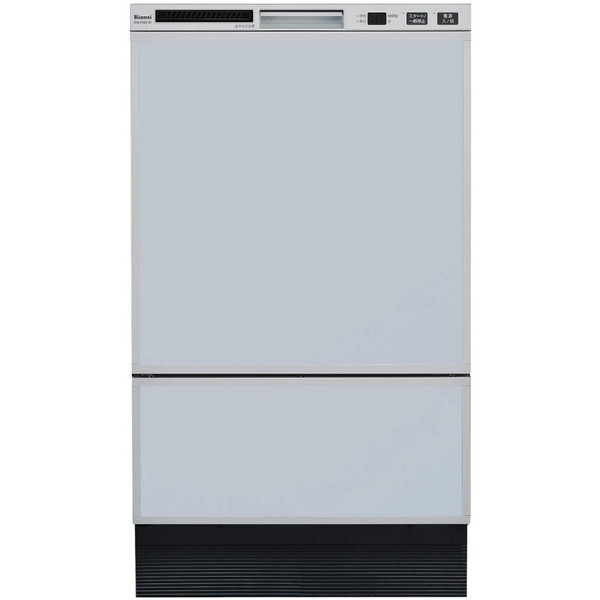 Rinnai RSW-F402C-SV シルバー [食器洗い乾燥機 (ビルトイン フロントオープンタイプ 8人用)]