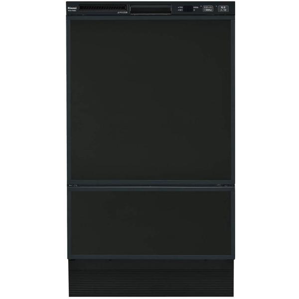 【送料無料】Rinnai RSW-F402C-B ブラック [食器洗い乾燥機 (ビルトイン フロントオープンタイプ 8人用)]