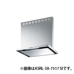 【送料無料】富士工業 ASRL-3A-7516R-BK ブラック スタンダード [レンジフードファン(シロッコファンタイプ・スリム型 75cm幅 右排気)]