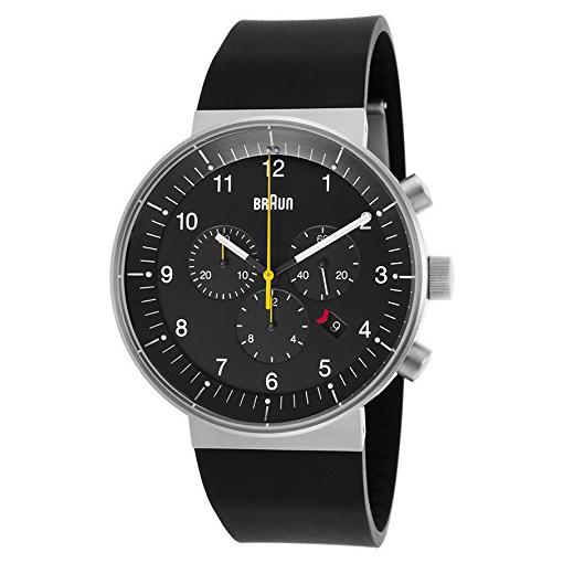 【送料無料】BRAUN BN0095BKSLBKG ブラック文字盤 BN0095シリーズ [腕時計] 【並行輸入品】